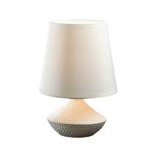 "Pebble Beach 10"" H Table Lamp with Empire Shade"