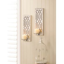 Deco Mirror Wall Sconce (Set of 2)