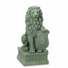 Regal Lion Garden Statue