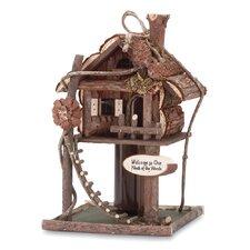 Neck Freestanding Bird House & Bird Feeder