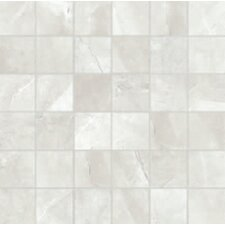 "Classic High Definition 2"" x 2"" Porcelain Matte Tile in Ivory"