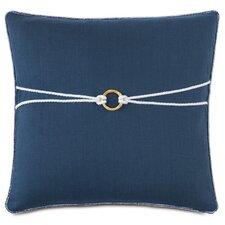 Nautical Bamboo Knot Down Throw Pillow