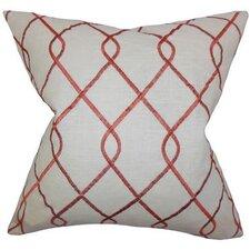 Jolo Geometric Linen Throw Pillow