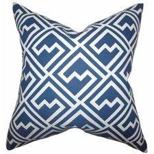 Ragnhild Geometric Cotton Throw Pillow