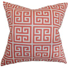 Paros Greek Key Throw Pillow