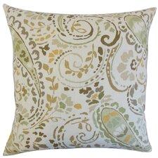 Robbia Floral Linen Throw Pillow