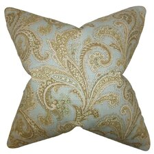 Hazaiah Floral Linen Throw Pillow