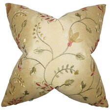 Denisha Floral Throw Pillow