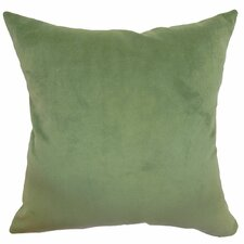 Generys Plain Velvet Throw Pillow
