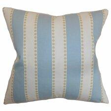 Odienne Stripe Cotton Throw Pillow