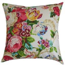 Khorsed Floral Cotton Throw Pillow
