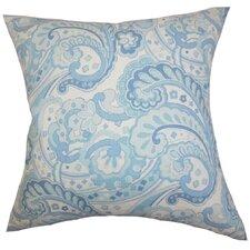 Iphigenia Floral Linen Throw Pillow