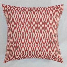 Hafoca Ikat Throw Pillow