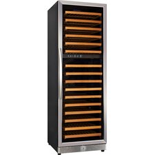 168 Bottle Dual Zone Freestanding Wine Refrigerator