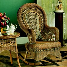 Country Brownwash Rocking Chair
