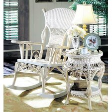 Millie White Rocking Chair