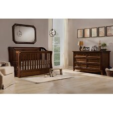 Mayfair 4-in-1 Convertible 2 Piece Crib Set