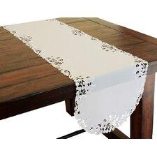 Arietta Embroidered Cutwork Table Runner