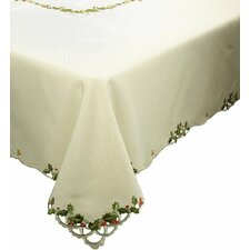 Winter Berry Christmas Table Cloth