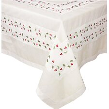 Classic Holly Table Cloth