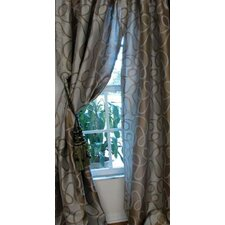 Metro Rod Pocket Lined Single Curtain Panel