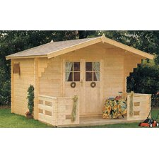 Douglas 9.5ft. W x 8ft. D Solid Wood Garden Shed