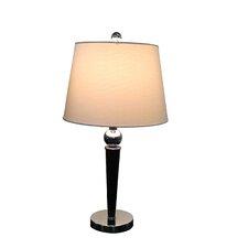 Home Elegant Modern Design Chrome Base Table Lamp with Drum Shade