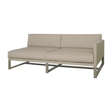 Mono Left Arm Deep Seating Sectional Piece with Cushions