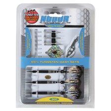 Nodor® 15 Piece Professional 85% Tungsten Dart Set in SideRider™ Case