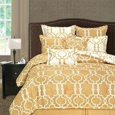Palmetto Print Works Grid Iron 8 Piece Comforter Set