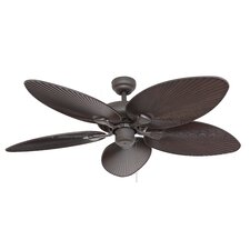 """52"""" Coral Island 5 Blade Indoor Ceiling Fan with Remote"""