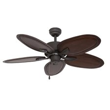 """52"""" Habana 5 Blade Indoor Ceiling Fan with Remote"""