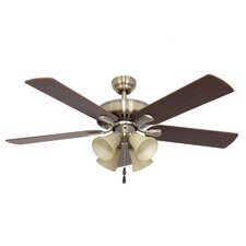 "52"" Bartlett 4 Light 5 Blade Ceiling Fan"