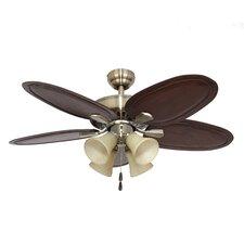 "52"" Habana 4 Light 5 Blade Ceiling Fan"