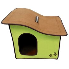Zipper Sloped Roof Dog House
