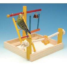 Small Wooden Playground Bird Activity Center