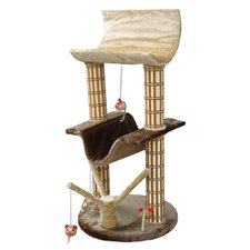 "42"" Multi-Level Lounger Cat Tree"