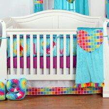 Terrific Tie Dye Infant 4 Piece Crib Bedding Set