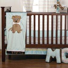 Puppy Pal Boy Infant 3 Piece Crib Bedding Set