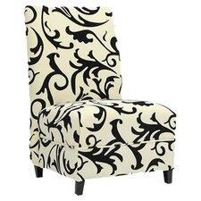 Baxton Studio Scripp Slipper Chair (Set of 2)