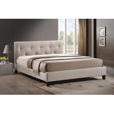 Annette Upholstered Panel Bed