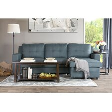Baxton Studio Staffordshire Right Hand Facing Sectional