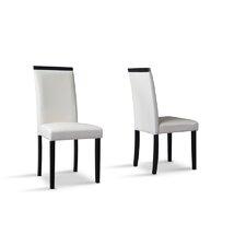 Baxton Studio Milano Side Chair (Set of 2)