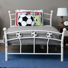Baxton Studio Soccer Twin Metal Bed