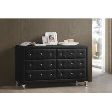Luminescence 6 Drawer Dresser