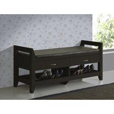 Baxton Studio Maurine Storage Entryway Bench