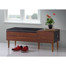Merrick Wood Storage Entryway Bench