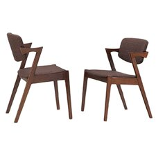 Elegant Upholstered Dining Chair (Set of 2)