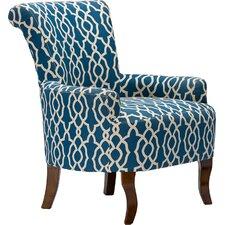 Baxton Studio Dixie Contemporary Fabric Arm Chair