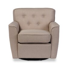 Baxton Studio Retro Upholstered Lounge Chair